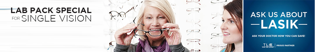 Lab Pack Special For Single Vision - Valleytown Eye Care Dundas